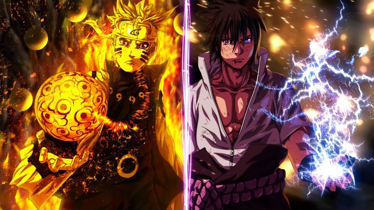[Wallpaper Engine] [Naruto] Naruto Vs Sasuke - YouTube