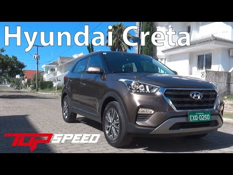 Testamos o Hyundai Creta 2017 | Canal Top Speed