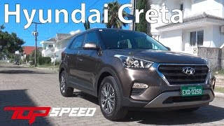 Testamos o Hyundai Creta 2017 | Canal Top Speed