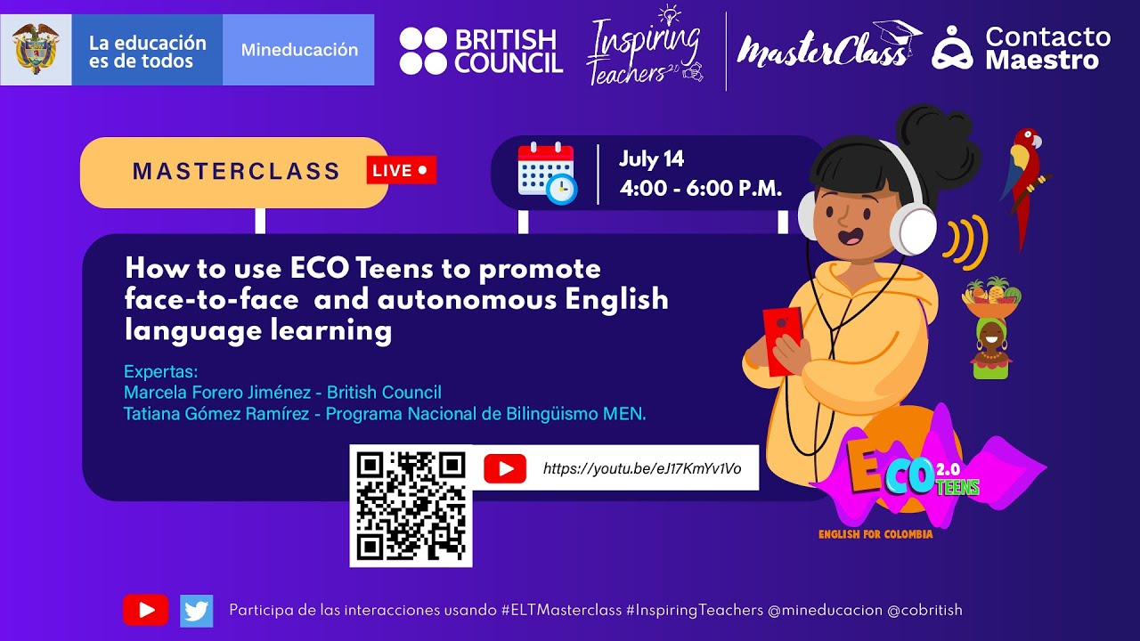 How to use ECO Teens to promote face-to-face and autonomous English language learning