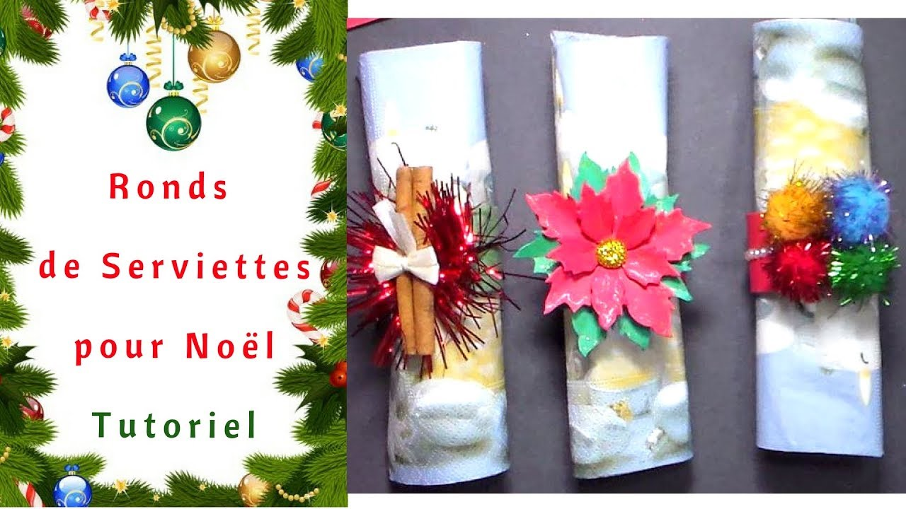 Rond De Serviette A Fabriquer Pour Noel comment faire des ronds de serviettes pour noël : tutoriel