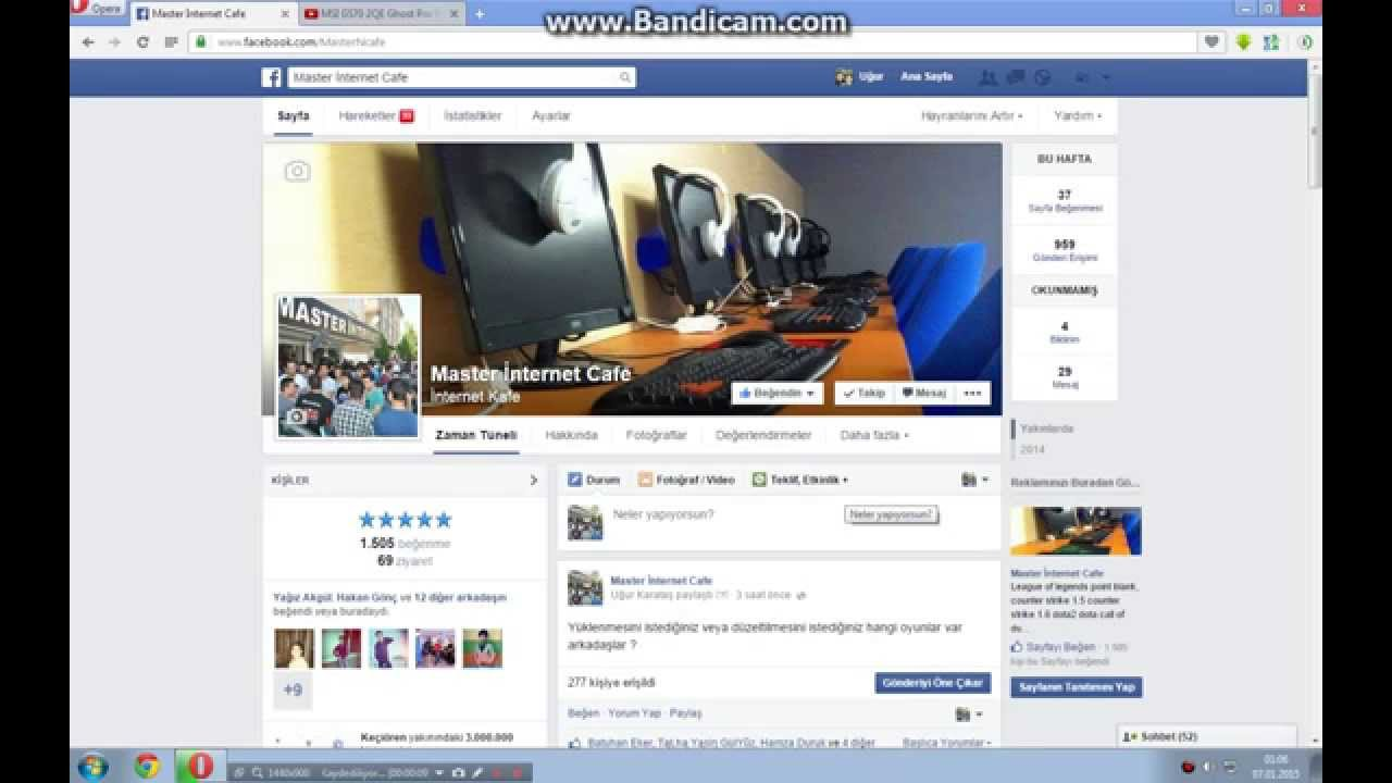 Facebook sayfa bildirimi nasıl alınır ?