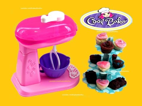 Kitchen Oven Kids Baker Play Cooking Easy Set Vido