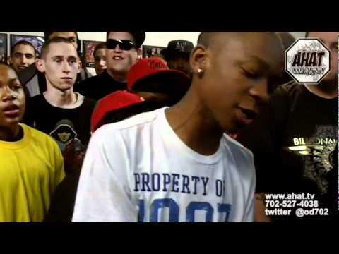 14 year old rapper vs Wolfgang Rukus