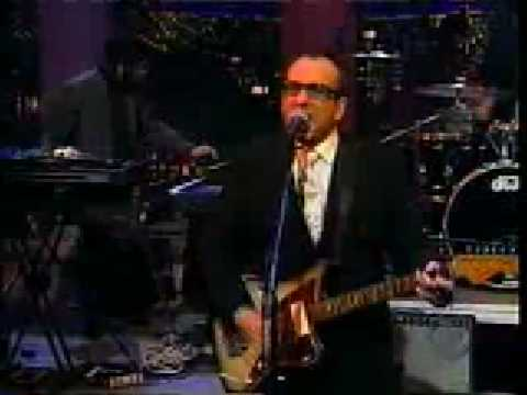 Elvis Costello -  Peace, Love and Understanding (Live on the Letterman Show)