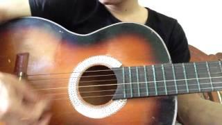hồn quê guitar solo