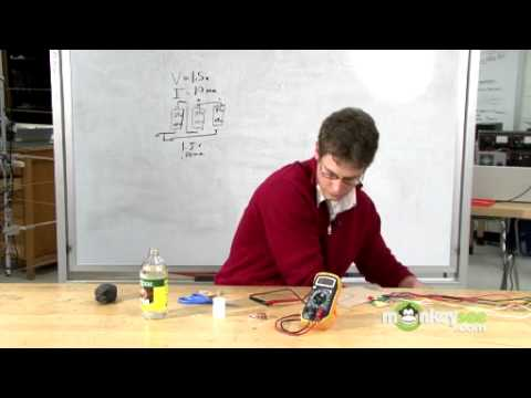 How to Make a Battery from a Voltaic Pile