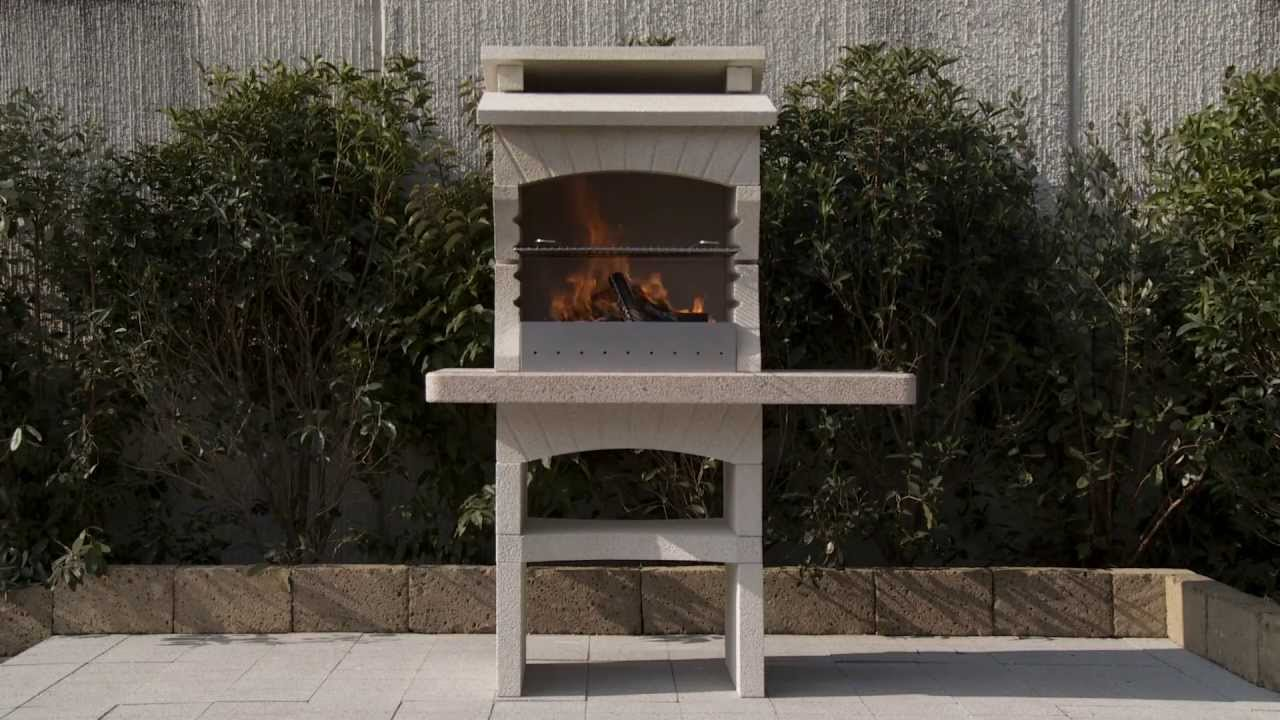 how to assemble a modern masonry barbecue by sunday. Black Bedroom Furniture Sets. Home Design Ideas