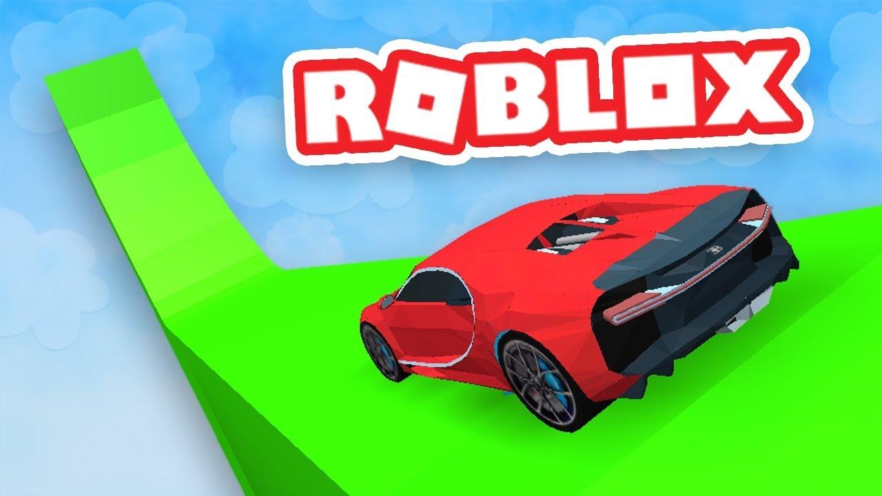 CRASHING CARS IN ROBLOX - YouTube