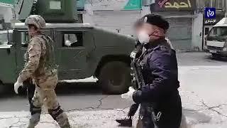 ضبط مخالفين لأوامر حظر التجول في عمان