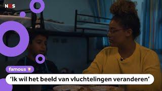 YouTuber Quinty maakt film over vluchtelingenkinderen