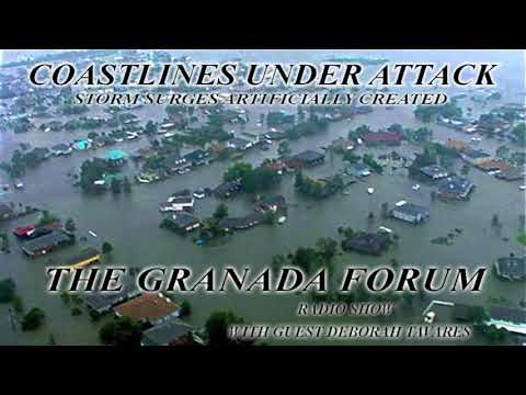 Coastlines Under Attack: Storm Surges Artificially Created