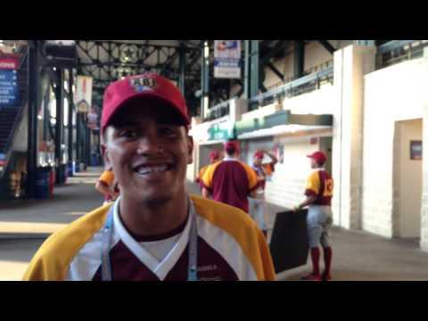 El Primer Paso - RBI Venezuela llega al Globe Life Park - Estadio de los Rangers de Texas