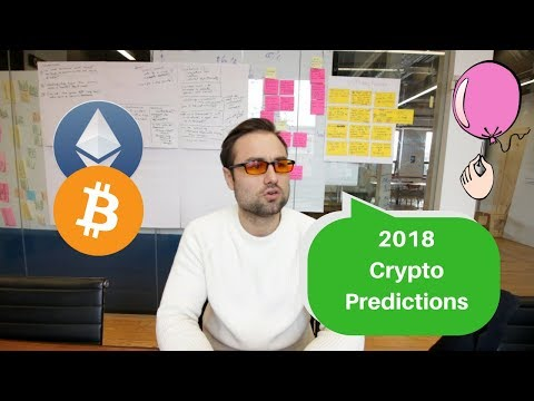 2018 Cryptocurrency Predictions