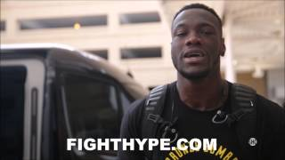 DEONTAY WILDER DEPARTS FOR RUSSIA; VOWS TO BRING
