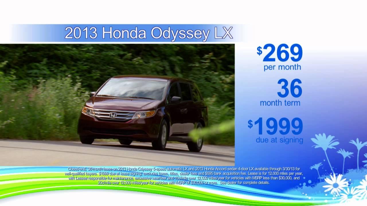 Spring Sales Event At Buckeye Honda 2013