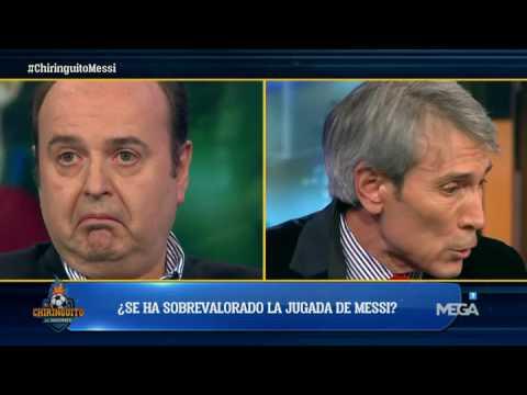 Lobo Carrasco: 'Lo que Messi hace andando no es capaz de hacerlo nadie'