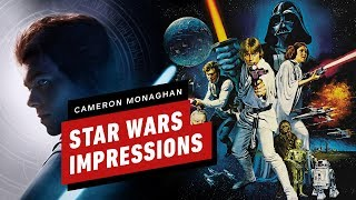 Cameron Monaghan Does Star Wars Impressions