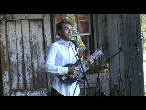 Chris Thile  Traditional Irish Reel and more  Floydfest 7 28 12