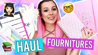 HAUL BACK TO SCHOOL / FOURNITURES, PAPETERIE, ORGANISATION.. 📚