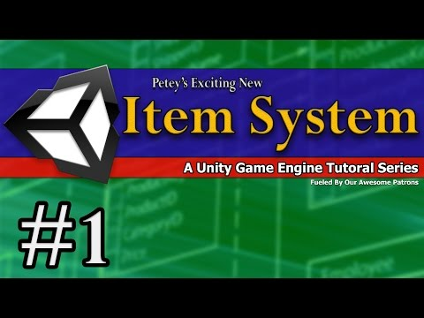Unity 5 RPG Series – 001 Item System