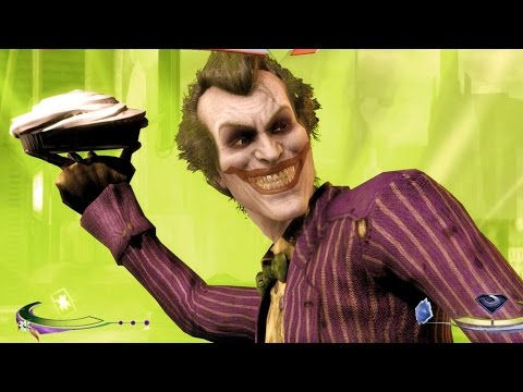 Injustice: Gods Among Us - The Joker Super Move on all Characters 4K 60FPS gameplay All Costumes