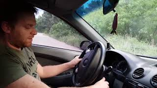 Урок вождения автомобиля 2 ЗА РУЛЕМ