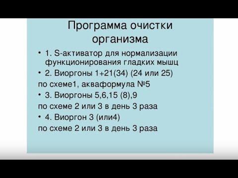 ВАЖНО! С каких виоргонов начинать и ПОЧЕМУ, Лимфодренаж, Врач Татьяна Севостьянова