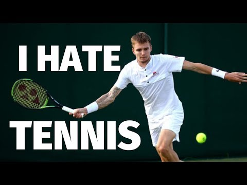 "ATP Tennis Player Alex Bublik ""I Hate Tennis - I Only Play For Money"""