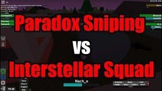 Paradox vs Interstellar ARL comp match | Apocalypse Rising ROBLOX