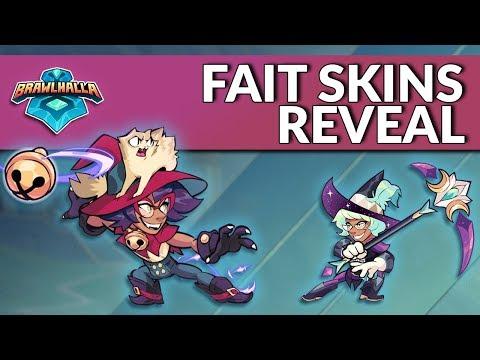 Fait Skins Reveal - Brawlhalla Dev Stream Montage