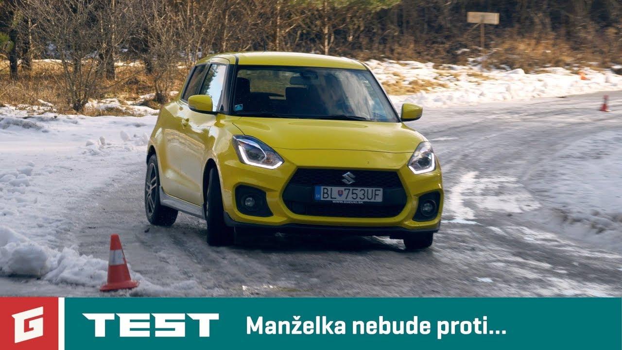 SUZUKI SWIFT SPORT 2019 - TEST - 1,4 TURBO - GARÁŽ.TV