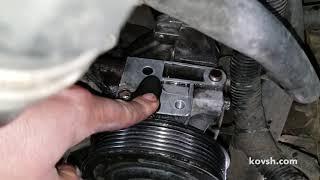 Почему не качает уже третий вакуумный насос на Ford Transit 2.4TDCi, D2FA