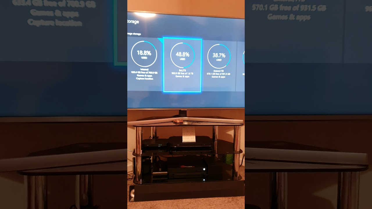 External hard drives Xbox One X - YouTube