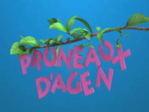 Vidéo Billboard Larousse et Pruneaux d'Agen