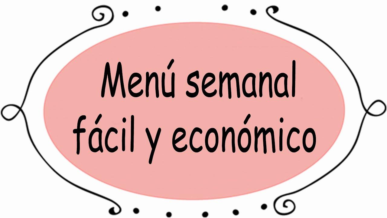 Mexico semana economico la menu para
