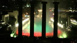 Magic Fountains - Barcelona - Spain 2012