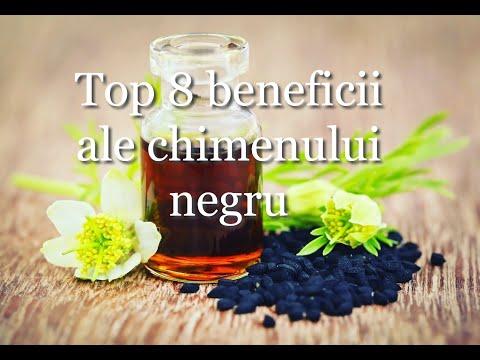 Top 8 beneficii ale chimenului negru