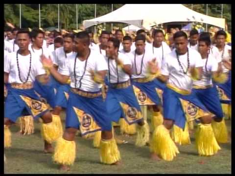 Pesega College performed Mauluulu @independence day 2016