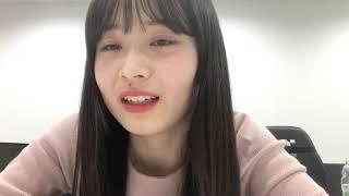 프로듀스48에 출연했던 아라마키 미사키(荒巻美咲)의 2018년 11월 9일자...