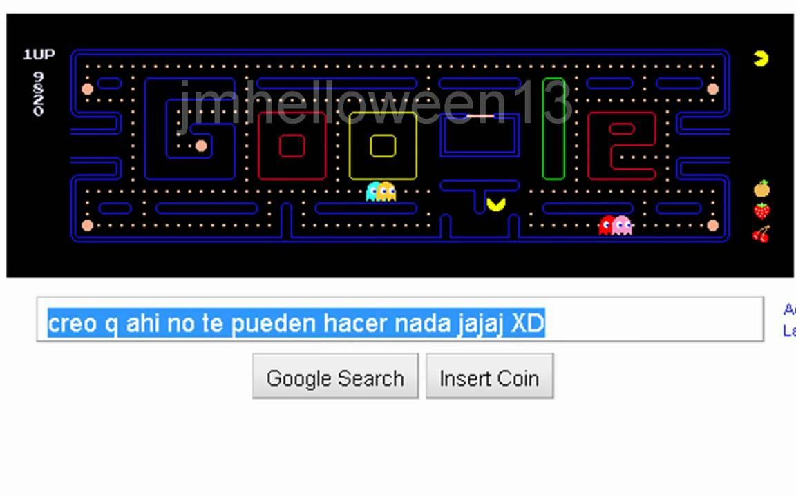 Pacman Google Truco Para No Perder Nunca Youtube