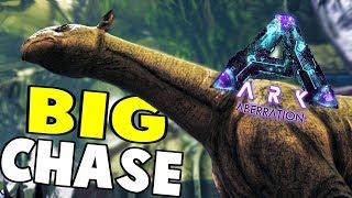 Big Chase, Stego Tame & Ravager Attack | ARK Survival Evolved Aberration Let