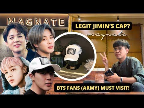 BTS Jimin's Dad Coffeeshop in Busan | MAGNATE