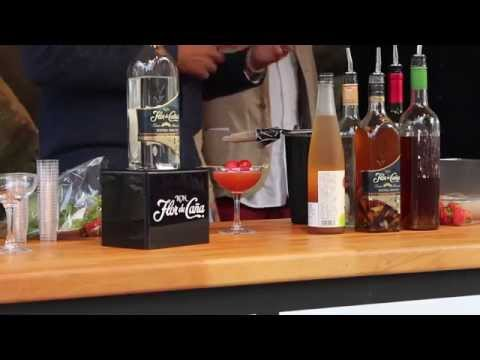 Mokoko Cocktail Demo at St Albans Food Festival - Herts Ad