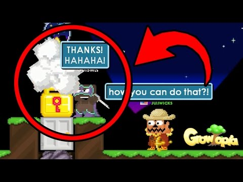UNLOCKING HIDDEN SUPER POWER pt.3, griefing without access like hacker! | Growtopia