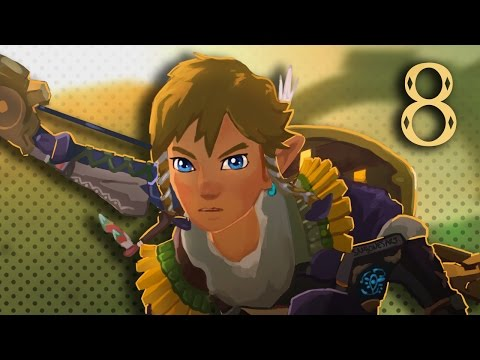 BasicallyIPlay - Legend of Zelda: BoTW! #8 Divine Beast Vah Medoh, Rito Village!