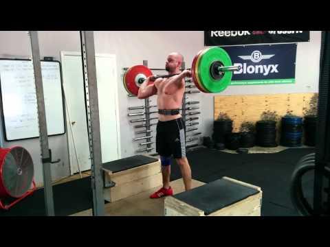Willie McLendon 125kg C&J from Blocks 6/18/15