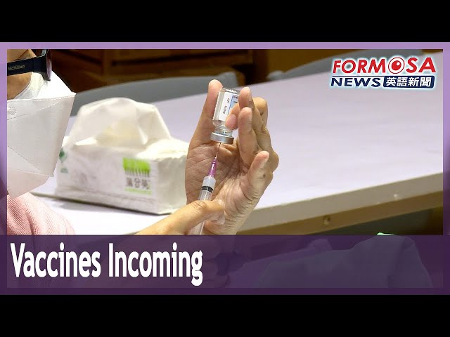 1.08 million Moderna doses, 600,000 AZ doses to arrive this week