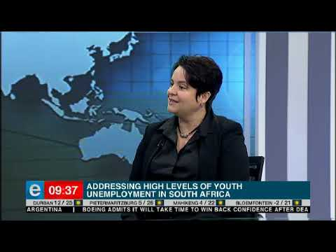 Addressing the high levels of youth unemployment