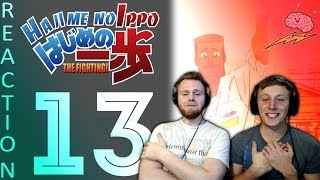 SOS Bros React - Hajime No Ippo Season 1 Episode 13 - The Wholesome Opponent!